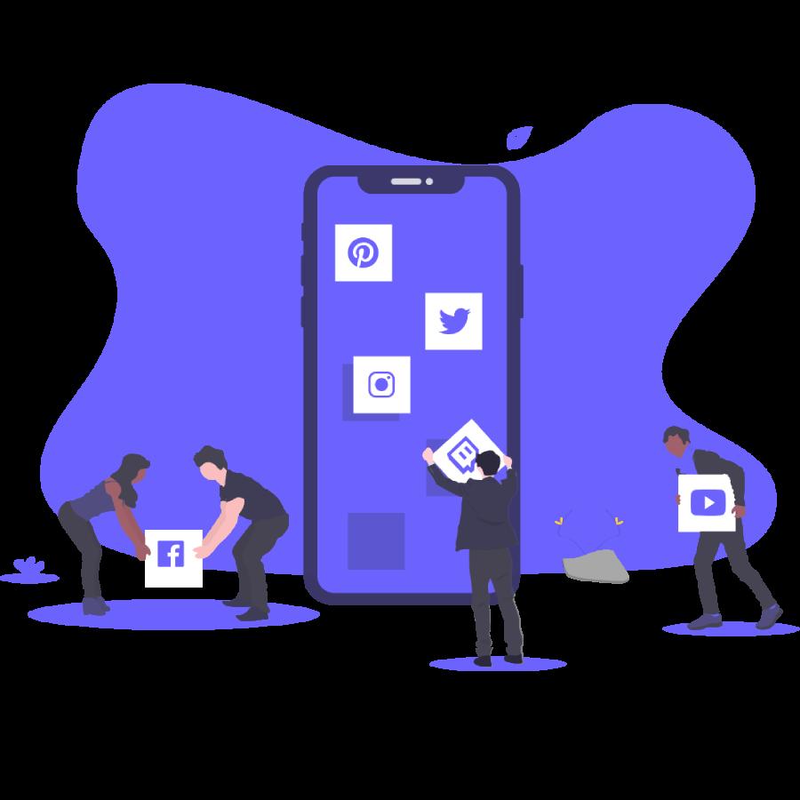 Social Media Integration Icon
