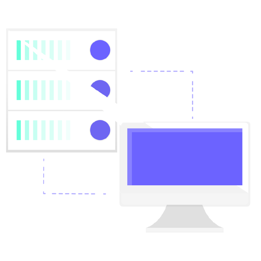 Information flowing to a VMS